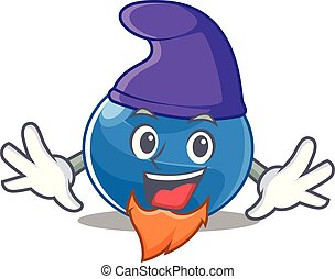 Elf blueberry character cartoon style