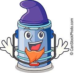 Elf cylinder bucket Cartoon of for liquid