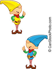 Elf Mascot - Giving Thumbs Up