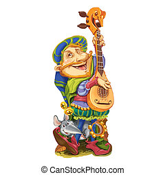 Elf plays the congratulatory song the guitar. - The elf from...