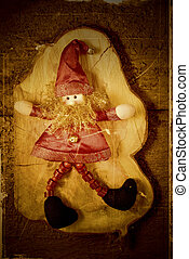 Elf Santa Christmas decoration