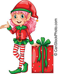 elfe, cadeau