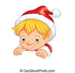 elfe, noël