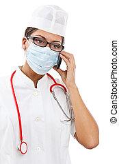 elfoglalt, doktornő