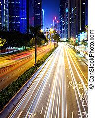 elfoglalt, forgalom, alatt, város