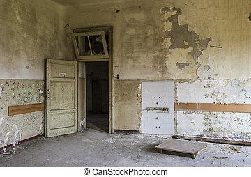 elhagyott épület