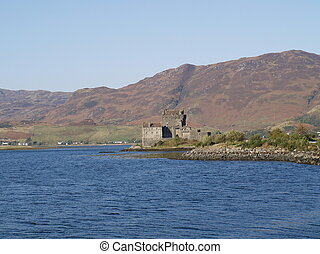 Elian Donan castle of Scotland