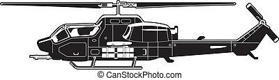 elicottero, attacco