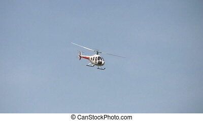 elicottero, rotolo