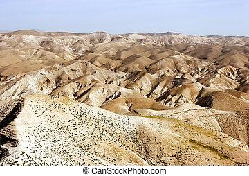 elijah, pustynia, panorama
