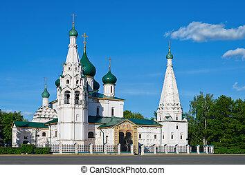 Elijah the Prophet Church. Yaroslavl, Russia