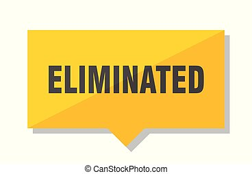 eliminated price tag - eliminated yellow square price tag