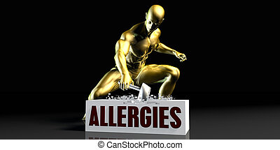 Eliminating Stopping or Reducing Allergies as a Concept