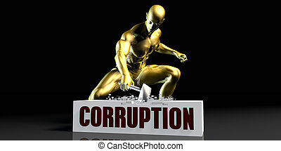 Eliminating Stopping or Reducing Corruption as a Concept