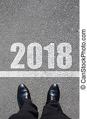 elindít, fordíts, újév, 2018