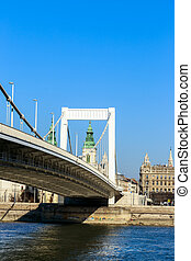 Elisabeth Bridge  of Budapest, Hungary