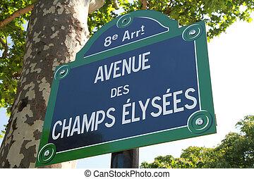 elisee, champion, signe