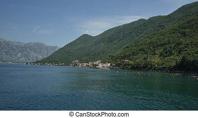 Elite hotel on the shore of Kotor Bay