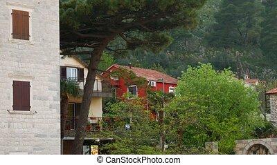 Elite hotel on the shore of Kotor Bay in Montenegro