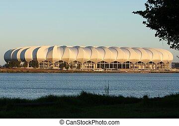 elizabeth, áfrica, estadio, futbol, puerto, sur