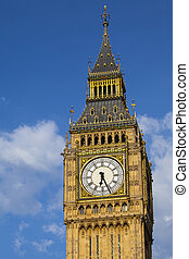 Elizabeth Tower in London - The Elizabeth Tower, which...