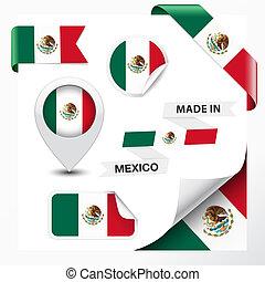 elkészített, gyűjtés, mexikó