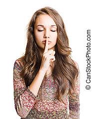 ella, secret.