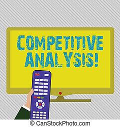 ellenőrzés, szín, szöveg, versenyképes, aláír, számítógép, analysis., tiszta, versenytárs, módszer, számítógép, kívül, birtok, fénykép, fogalmi, használt, kiértékel, kiállítás, screen., kéz, hadászati, széles, távoli, infront