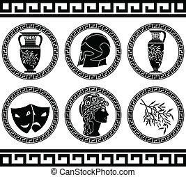 ellenico, buttons., stampino