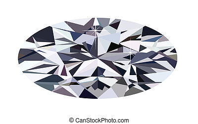 ellipse diamond - ellipse diamond illustration