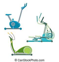 Elliptical training apparatuses to keep physical shape set....