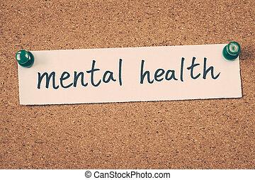 elmebeli egészség