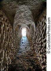 elmina, esclavitud, sitio, ghana:, herencia, mundo, castillo...
