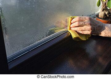 elnyel, abbahagy, windows, cseppfolyósítás