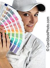 elpirul swatches, festő