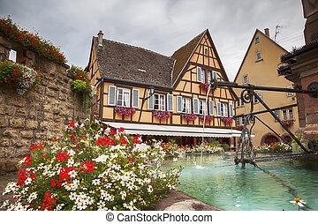 elsaß, dorf, eguisheim