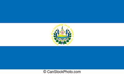 elsalvador, σημαία