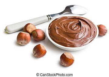 elterjed, tál, csokoládé