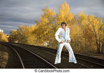 elvis clone in fall color - taken frood rd sudbury