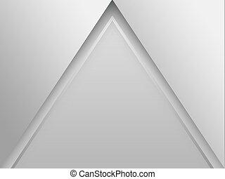 elvont, alakzat, háromszög, (pyramid), háttér
