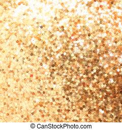 elvont, arany, háttér, noha, másol, space., eps, 8