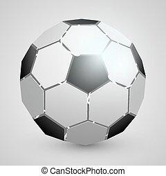 elvont, futball, 3, labda