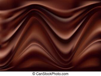 elvont, háttér, csokoládé
