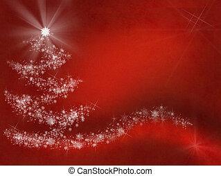 elvont, határ, keret, karácsony, háttér