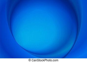 elvont, kék, radiális, háttér