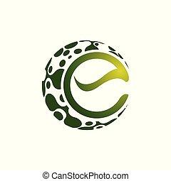 elvont, modern, alakzat., vektor, tervezés, jel, geometriai, logo., element.