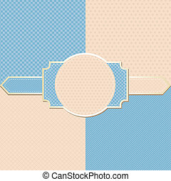 elvont, pattern., seamless, háttér., retro, elegáns, geometriai