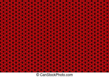 elvont, piros, háttér.