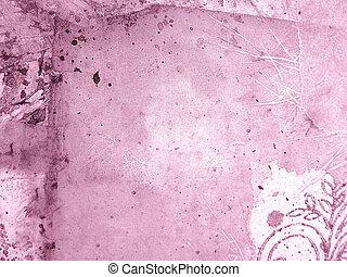 elvont, rózsaszínű, backgr