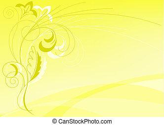 elvont, sárga háttér